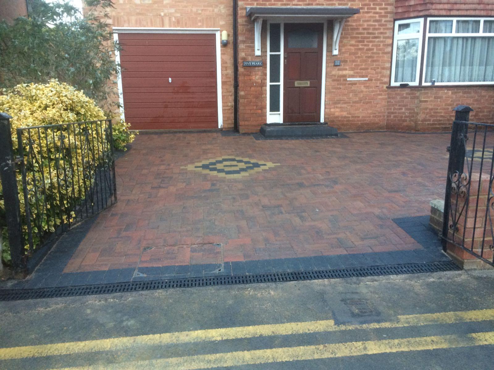 block paving driveway preston