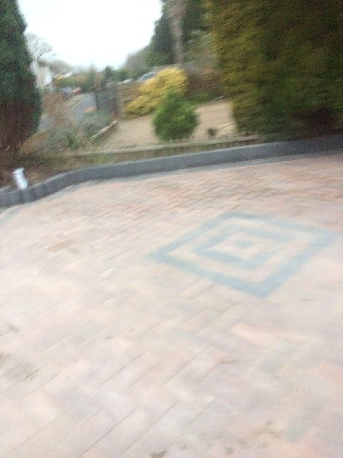 patterned driveway preston